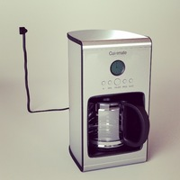 Free Coffee machine 3D Model