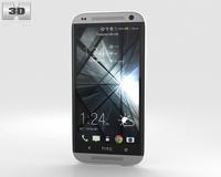 HTC Desire 601 White 3D Model