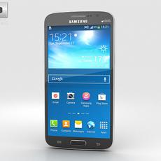 Samsung Galaxy Grand 2 Black 3D Model