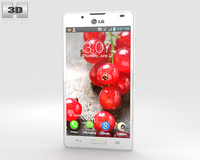 LG Optimus L7 II P713 White 3D Model