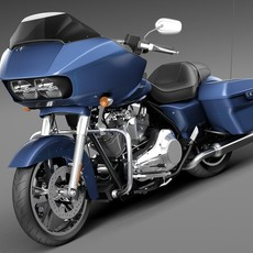 Harley-Davidson Road Glide 2015 3D Model