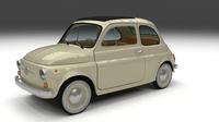 Fiat 500D Nuova 1960 3D Model