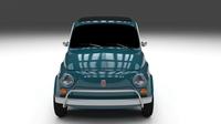 Fiat 1968 500L Luxe 3D Model