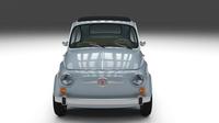 Fiat Nuova 500 1957 3D Model