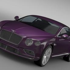 Bentley Continental GT 2015 3D Model