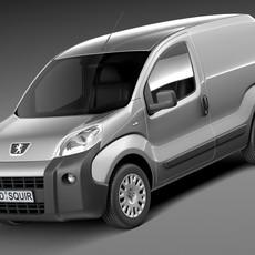 Peugeot Bipper 2008 3D Model