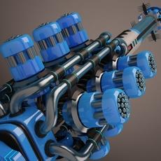 Sci-fi locator 3D Model