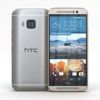 HTC One M9 Silver or Rose Gold 3D Model