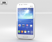 Samsung Galaxy Ace 3 White 3D Model