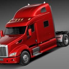 Peterbilt 587 2015 3D Model