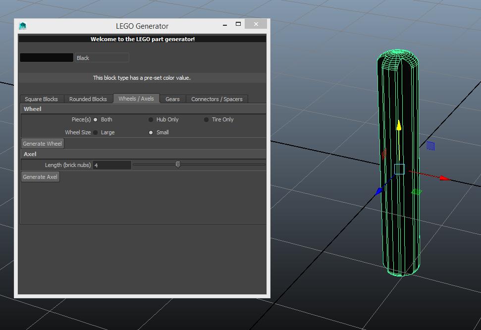 Lego Generator for Maya - Free Poly Tools Modeling Scripts / Plugins ...