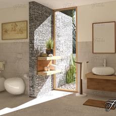 Bathroom 60 3D Model