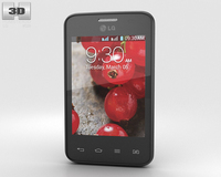 LG Optimus L3 II Dual E435 Black 3D Model