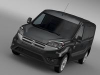 Ram ProMaster City Tradesman SLT Cargo Van 2015 3D Model