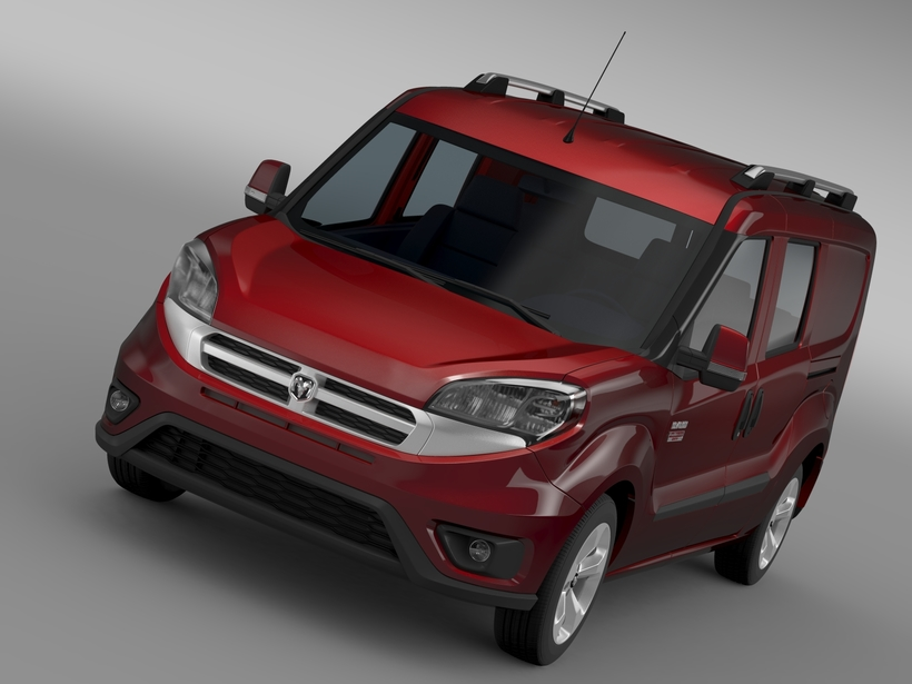 Ram ProMaster City Wagon SLT 2015 3D Model