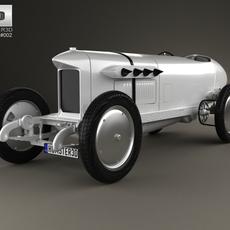 Benz Blitzen 1909 3D Model