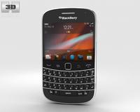 BlackBerry Bold 9900 Black 3D Model