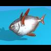 Opah Fish 3D Model