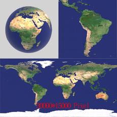 Globe 01 3D Model