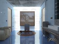 Bathroom 62 3D Model