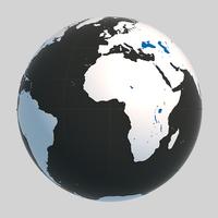 Globe 02 3D Model