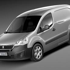 Peugeot Partner 2015 3D Model