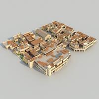 Maktoum souk 3D Model