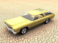 1973 Chevrolet Impala Wagon 3D Model