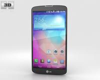 LG G Pro 2 Titan 3D Model
