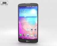 LG G Pro 2 Silver 3D Model
