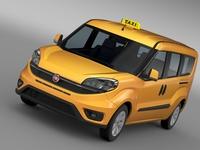Fiat Doblo Maxi Taxi 152 2015 3D Model
