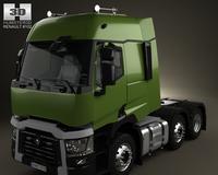Renault T Tractor Truck 2013 3D Model
