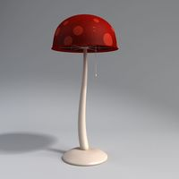 floor lamp mushroom 3D Model