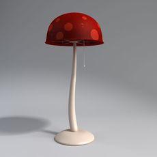 floor lamp mushroom 3D Model