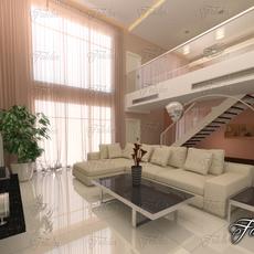 Living room 32 3D Model