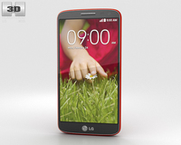 LG G2 Mini Red 3D Model