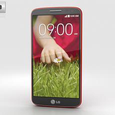 LG G2 Mini Red 3D Model