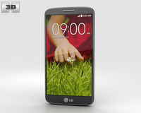 LG G2 Mini Titan Black 3D Model