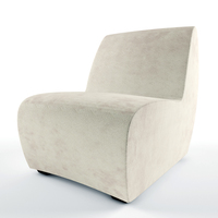 Solid modern chair Cattelan 3D Model