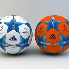 Adidas Finale, 2015/16 UEFA Champions league Official match ball 3D Model