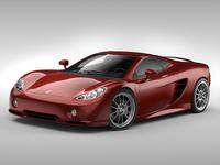 Ascari KZ1 3D Model