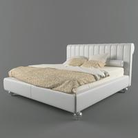 Bed KENT 3D Model