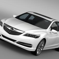 Honda Legend 2015 3D Model