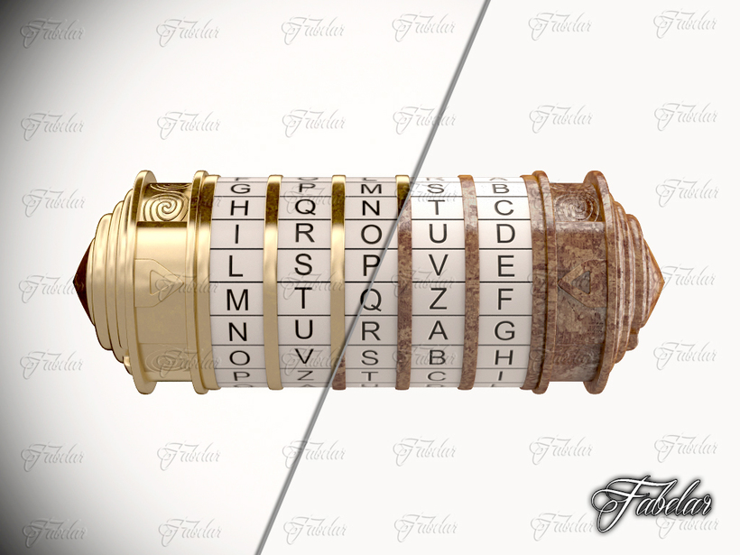 Cryptex Collection 3D Model