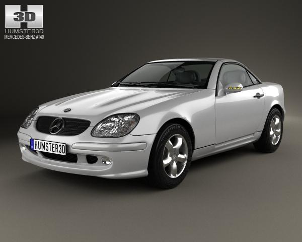 Mercedes-Benz SLK-class 2000 3D Model