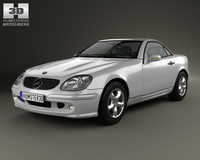 Mercedes-Benz SLK-class 2000 3D Model