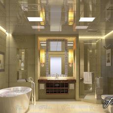 Bathroom 63 3D Model