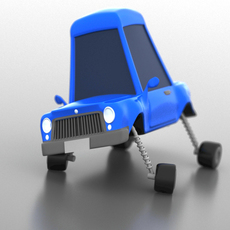 AS_Cartoon_Car for Maya 1.0.0