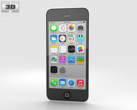 Apple iPhone 5C White 3D Model