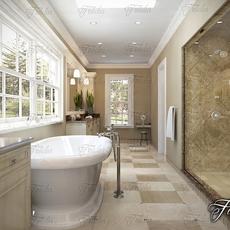 Bathroom 70 3D Model